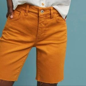SOLD Anthropologie Pilcro Bermuda Shorts NWT 30